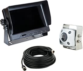 VSG IP69K-Professional / extrem robust / höchste Schutzklasse IP69K / 12-24 Volt / 154° & 600TV Linien / Heavy-Duty / inkl. 20m Kabel / 2 Videoeingänge / PRO-Expert Serie