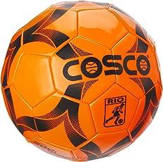 Cosco Rio Football, Size 3 (Small Sized Football) - Orange Colour.