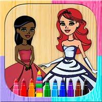 Pintar y colorear princesas