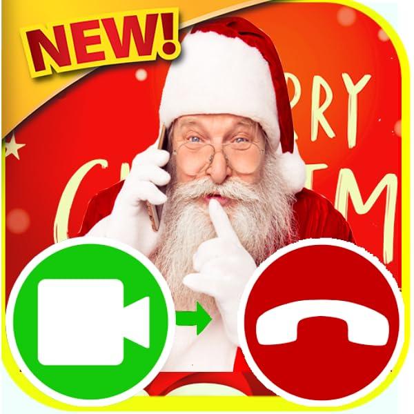 Message Video Du Pere Noel Appel vidéo du père Noël   faux appel du père Noël   Free Fake