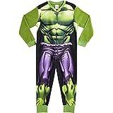 Marvel Onesie para Niños | Mono Infantil con Personajes Hulk Y Avengers Onesie Pijama para Niños | Mono Pijama Todo En Uno pa