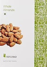Amazon Brand - Solimo Premium Almonds, 1kg