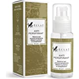 Antiperspirant by Eclat - Maximum Strength Peppermint Anti-Perspirant Spray - Eliminates Excessive Sweating + Odours - All-Natural Formula with Comfrey Plant Extract