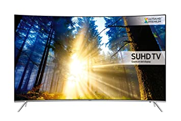 samsung curved tv 55 inch. samsung ue55ks7500 55 inch curved suhd 4k ultra hd hdr quantum dot smart tv with freeview tv
