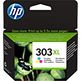 HP 303XL - 10 ML - à rendement élevé - Couleur (Cyan, Magenta, Jaune) - Originale - Cartouche d'encre - pour Envy Photo 62XX,