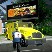 ciudad camión sim: casa entrega