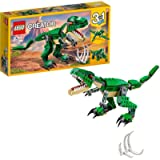 LEGO 31058 Creator Mighty Dinosaurs Toy, 3 in 1 Model, Triceratops and Pterodactyl Dinosaur Figures, Modular Building…