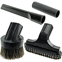 SPARES2GO Mini Brush Stair & Crevice Tool Kit for Numatic Henry Hetty Vacuum Cleaners (32mm)