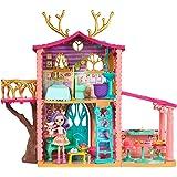 Mattel FRH50 Enchantimals Zestaw Domek Jelonków, Wielokolorowy