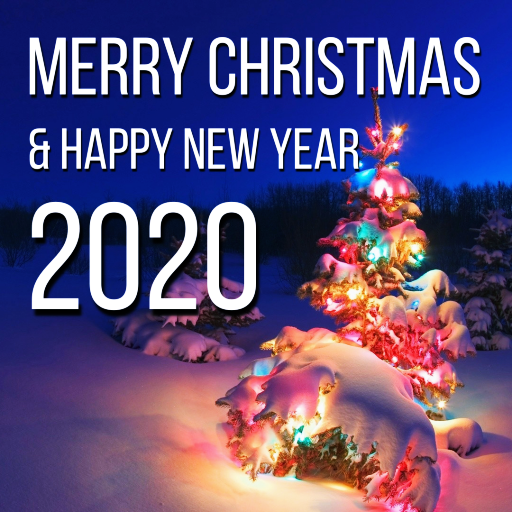 Merry Christmas & Happy New Year Cards 2020: Amazon.in ...