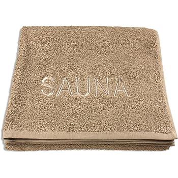 Farben:Beige Mojawo/® XL Saunatuch//Duschtuch mit Jacquardborde Sauna Luxusqualit/ät 70x180cm 100/% Baumwolle