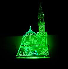 Ajanta Kaaba Minar 3D Night Lamp