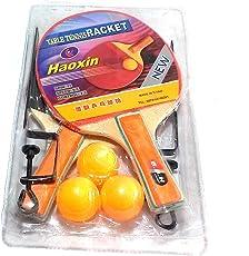 Nawani TT Bats + TT Balls + Stand + Net (Complete Table Tennis Kit)