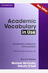 Academic Vocabulary in Use Edition with Answers Paperback