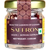 Malikaz' The Royale Taste Kashmir Saffron (Grade A) | Kesar/ Zaffran/ Jafran | Bottle, 5 g