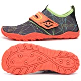 SAGUARO Water Shoes Kids Wet Shoes Quick Drying Non-Slip Breathable Beach Swim Shoes