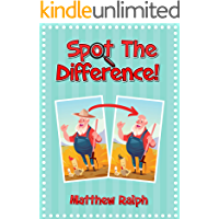 Spot The Difference: 20 fun and colorful spot the difference pictures for kids