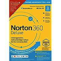 Norton 360   Deluxe   3 Gerät   1 Benutzer   1 Jahr   PC/Mac   Aktivierungscode per Email