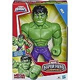 Playskool Heroes Marvel Super Hero Adventures Mega Mighties Hulk, 25 cm große Actionfigur