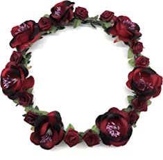 Smart Creations Floral Collection Tiara/Head Band for Girls/Women