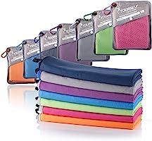 Syourself microfibra sport e viaggi towel- XL, L, M, S – asciugatura rapida, leggero, assorbente, morbido – perfetto per...
