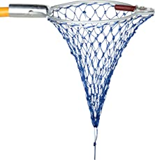 Nile Tree Nylon Aluminium Fruit Plucker Net for Mango, Medium (Blue and SIlver)