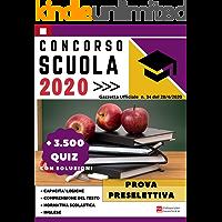 Concorso Scuola 2020: + 3500 Quiz Prova Preselettiva: Gazzetta ufficiale n. 34 del 28/04/2020