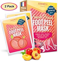 Exfoliating Foot Peeling Mask for Soft Baby Feet - 2 Pairs - Removes Calluses, Dead and Dry Skin - Repairs Rough Heels...
