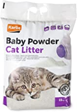 Karlie Katzenstreu Klumpstreu Pet PLUS Babypuderduft, 15 kg