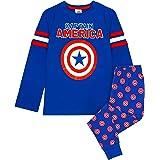Marvel Capitán América Vengadores Escudo Logotipo del niño Pijamas Largos