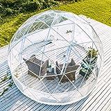 Cupola Geo Garden Dining Outdoor Igloo Pod - Riparo in PVC per giardino, pub e ristoranti