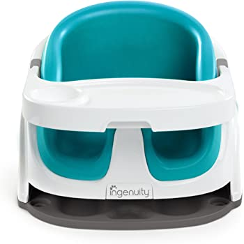 Ingenuity Baby Base 2-in-1 Seat (Peacock Blue)