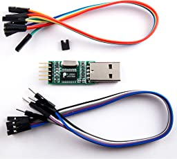 NooElec PL2303 USB to Serial (TTL) Module/Adapter with Female and Male Wiring Harnesses & Test Jumper. Compatible with Windows 98 through Windows 7; Mac OS 8 through OS X, Linux and Android!