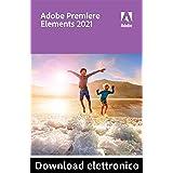 Adobe Premiere Elements 2021   1 Usuario   PC   Código de activación PC enviado por email