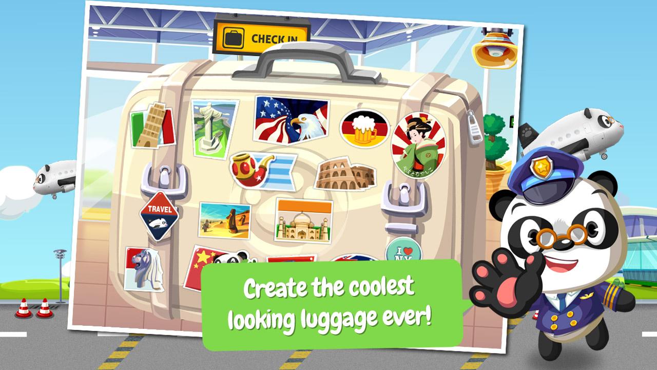 Dr. Pandas Flughafen Screenshot
