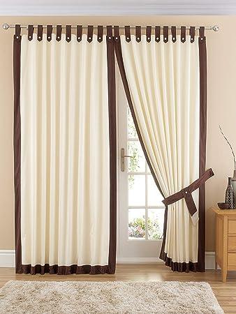 Curtains Ideas chocolate brown tab top curtains : Claremont Tab Top Curtains In Chocolate . 66