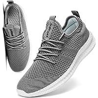 FUJEAK Hommes Chaussures De Course Hommes Casual Chaussures De Marche Respirantes Sport Baskets Athlétiques Gym Tennis…