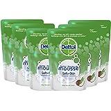 Dettol Handzeep Zachte Mousse - Navulling Magic Foam - Aloe Vera & Coco - 200 ml x6 - Grootverpakking
