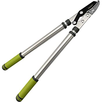 Davaon Pro Telescopic Anvil Loppers – Less Effort Sharp Easy Cut – Lightweight - Quick Extendable 630-950mm Garden Pruner - Best on Tree Branches Hedge Too Thick for Secateur – Quality Gardening Tool