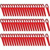 FORMIZON Lames en Plastique 60 Pcs Lames de Tondeuse pour Jardin pelouse Tondeuse Accessoires, Lames en Plastique de Rechange