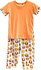 Frangipani Unisex Cotton Ambling Elephants Pyjama Set