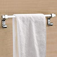 Plantex Stainless Steel Towel Hanger for Bathroom/Towel Rod/Bar/Bathroom Accessories(18 Inch-Chrome)