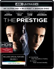 The Prestige (4K UHD & HD) (3-Disc Box Set)