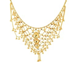 Handicraft Kottage 1 Gram Gold Plated Bridal Belly Chain (Kamarband) for Wedding, Anniversary, Ceremony, Pooja etc. for Women