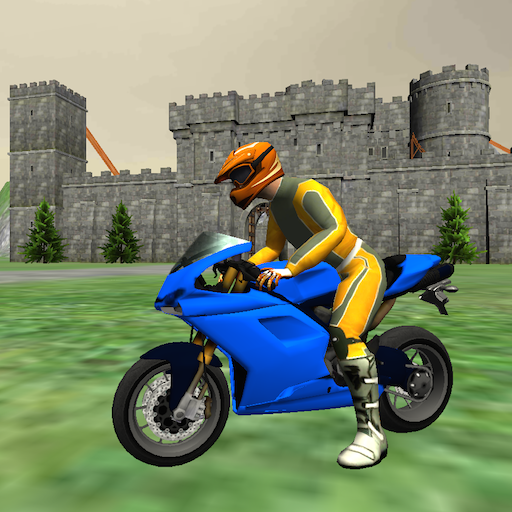 Motorbike Medieval Drive 3D - Motorcycle Riding Simulator
