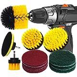 RAIN QUEEN Boorborstel 10 stuks elektrische reinigingsborstel Power Scrubbing Brush Boor Fixing Boor Borstels Tegels Auto Cle