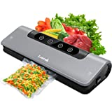 DobuyMall Vacuum Sealer, Automatic Vacuum Air Sealing System for Food Storage, Preservation and Sous Vide, Vacuum Sealing Mac