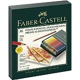 Faber-Castell Polychromos Färgpennor, Flerfärgad, Paket med 36