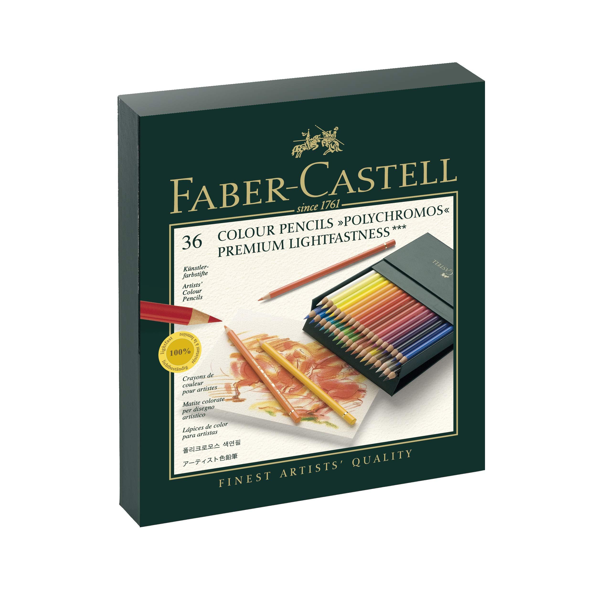 Faber-Castell 110038 – Lápices, 36 unidades