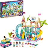 LEGO Friends Summer Fun Water Park 41430 building set with 4 mini-dolls, hot tub and accessories, Toy for Kids 8+ years old (